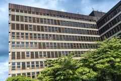 Modern office buildings. In center of Bern, Switzerland Stock Photo