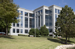 Modern office buildings in the city background. Beautiful modern office buildings and landscapes  design, Hall park Frisco TX USA Royalty Free Stock Image