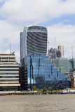Modern office buildings ,City of London, London, United Kingdom Stock Photos