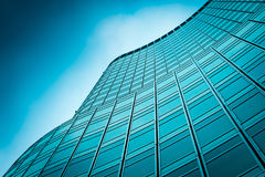 Modern Office Buildings. Close-Up Of Modern Office Buildings Royalty Free Stock Image