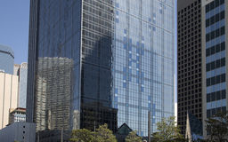 Modern office buildings in downtown Dallas Royalty Free Stock Image
