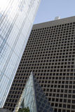 Modern office buildings in downtown Dallas TX Stock Photos