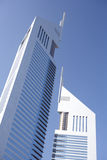 Modern Office Buildings In Dubai. Close up of Modern Office Buildings In Dubai Stock Photography