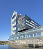 Modern office buildings exterior Stock Images