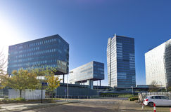 Modern office buildings exterior Stock Image