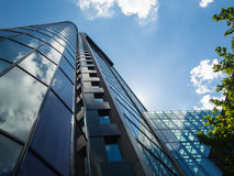 Modern office buildings in the financial district of Frankfurt, Germany Stock Photo
