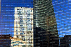 Modern office buildings in financial district Royalty Free Stock Images