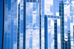 Modern Office buildings glass window texture Royalty Free Stock Images