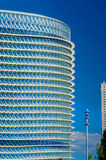 Modern office buildings glisten in the sun Royalty Free Stock Images