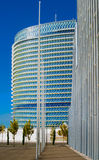 Modern office buildings glisten in the sun Stock Photography