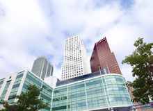 Modern office buildings Royalty Free Stock Image