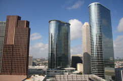 Modern office buildings in Houston. Beautiful modern office buildings in Houston ,Texas Royalty Free Stock Photography
