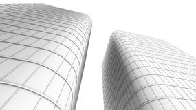 Modern office buildings Stock Image