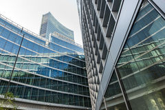 Modern office buildings in Milan (Lombardy Italy) Stock Photo