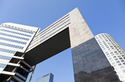 Modern office buildings at Rotterdam Stock Photos