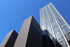 Modern office buildings and skyscraper background Stock Photo