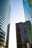 Modern office buildings. View of modern office buildings Stock Photos