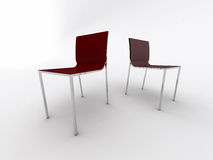 Modern office chairs Royalty Free Stock Photo