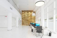 Modern Office Conception 01 concept stock illustration