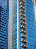 Modern Office-condo building detail Stock Image