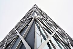 Office building. Business building. Exterior of building. Royalty Free Stock Images