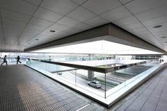 Modern office corridor royalty free stock image