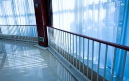 Modern office corridor Royalty Free Stock Photos