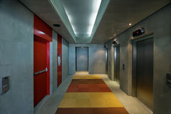 Modern Office Corridor Royalty Free Stock Photo