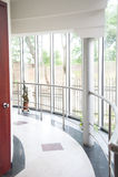 Modern office corridor Stock Images