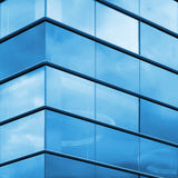 Modern office facade fragment Royalty Free Stock Photography