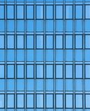 Modern office glass wall Royalty Free Stock Image