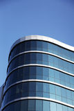 Modern office house. At blue sky background Stock Photo