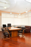 Modern office interior. Director's office with a place for meetings Stock Photography