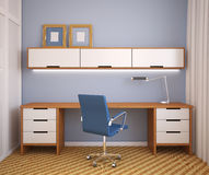 Modern office interior. Royalty Free Stock Photography