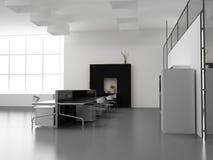 The modern office interior Stock Photos