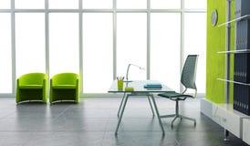 Modern office interior 3d stock photos