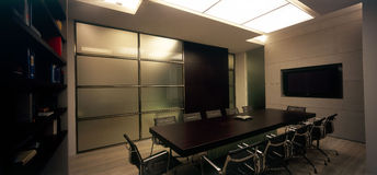 Modern office interior Stock Images