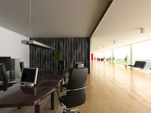 Modern office interior Stock Photography