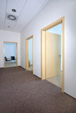 Modern office interior - corridor Royalty Free Stock Photography