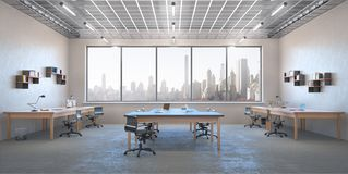 Modern office interior royalty free stock image
