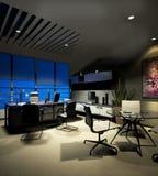 Modern office interior. 3d rendering