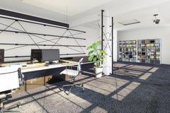 Modern office interior. Royalty Free Stock Photos