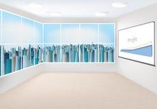 Modern office interior Royalty Free Stock Photo