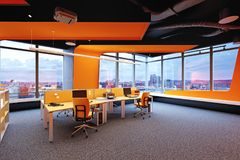 Modern  office interior. Stock Image