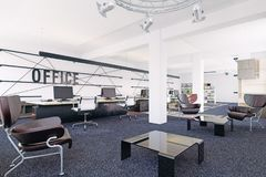Modern office interior. Stock Images