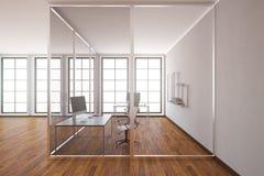 Modern office interior side Stock Image