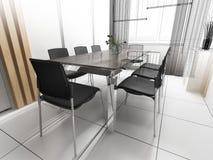 Modern office interior stock photos