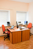 Modern office interior - workplace Royalty Free Stock Photo