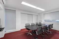 Modern office meeting room royalty free stock photography