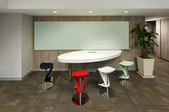 Modern office meeting space Stock Image